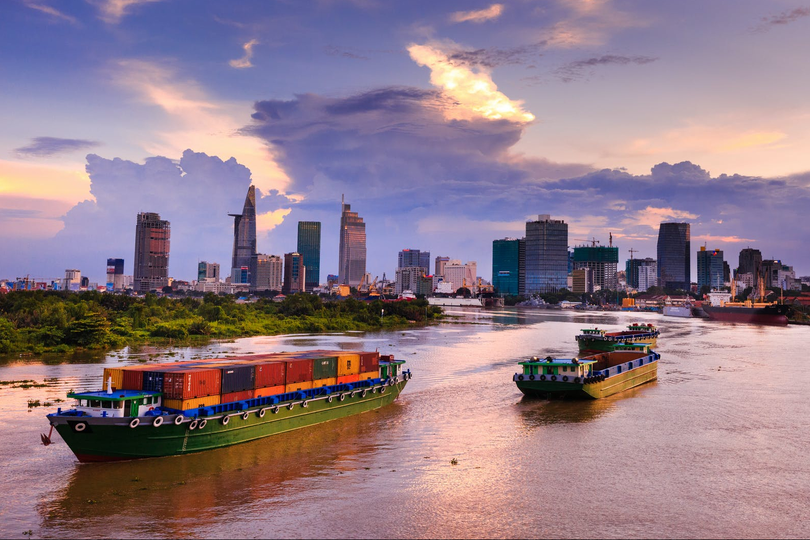 Sea freight in Ho Chi Minh