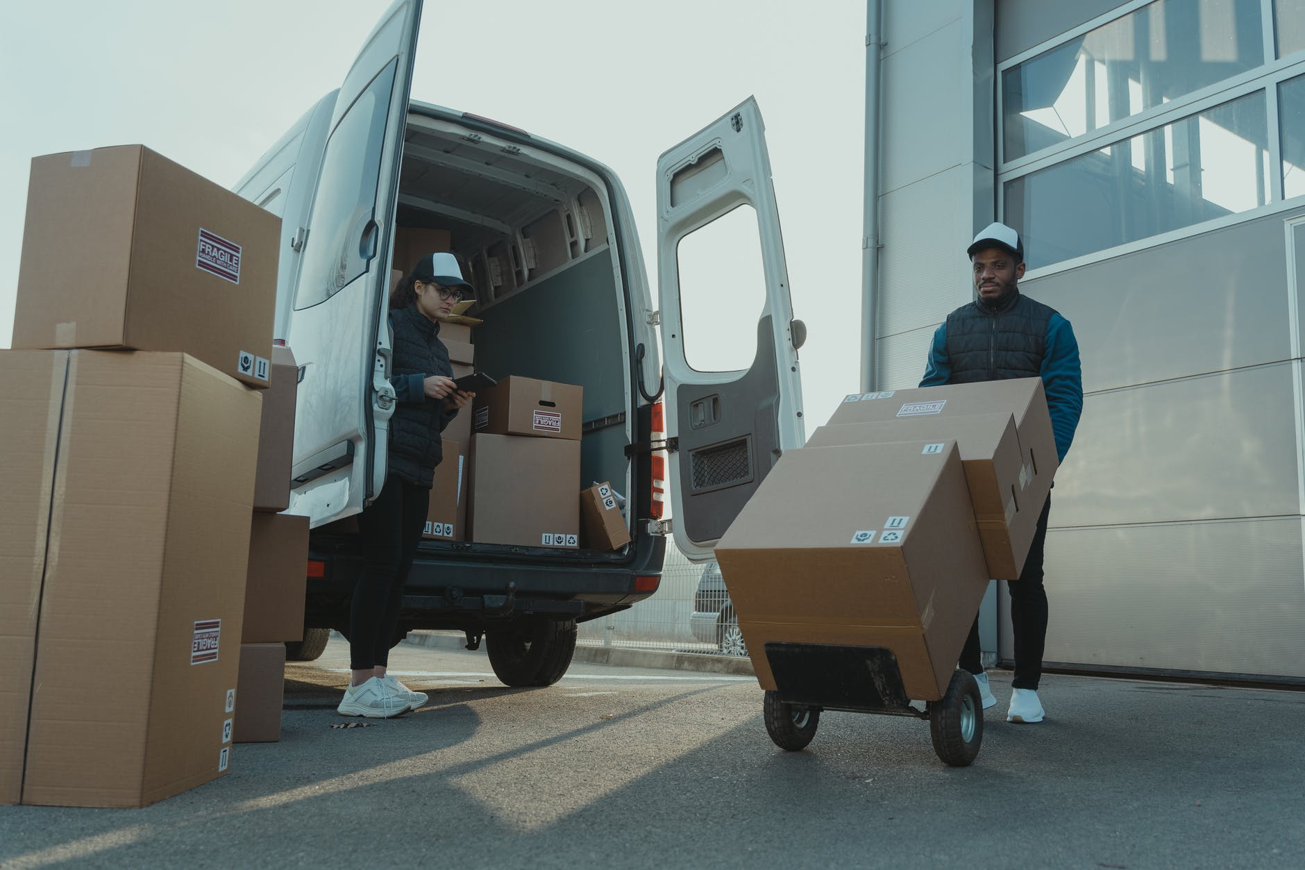 Pick Up & Delivery Services